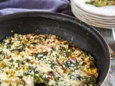 Rainbow Chard Frittata–A Simple Recipe
