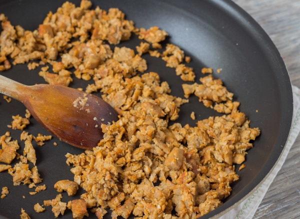 veggie sausage for Portuguese Kale and Potato Soup
