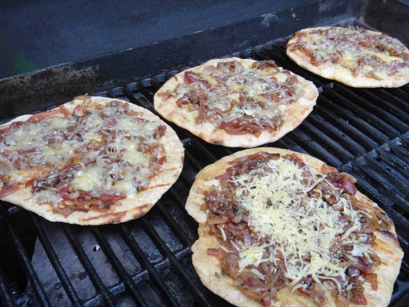 Caramelized Three Onion and Thyme Pizza with Fontina ...