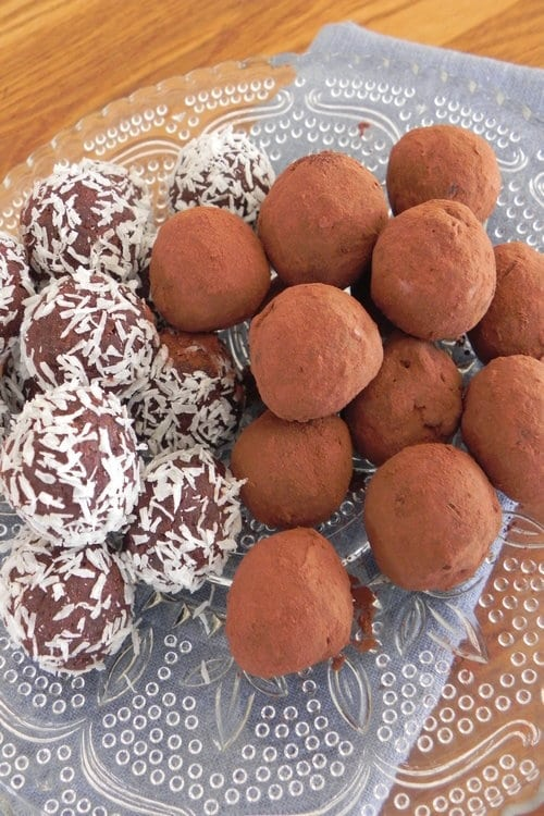 Chocolate Vegan Truffles
