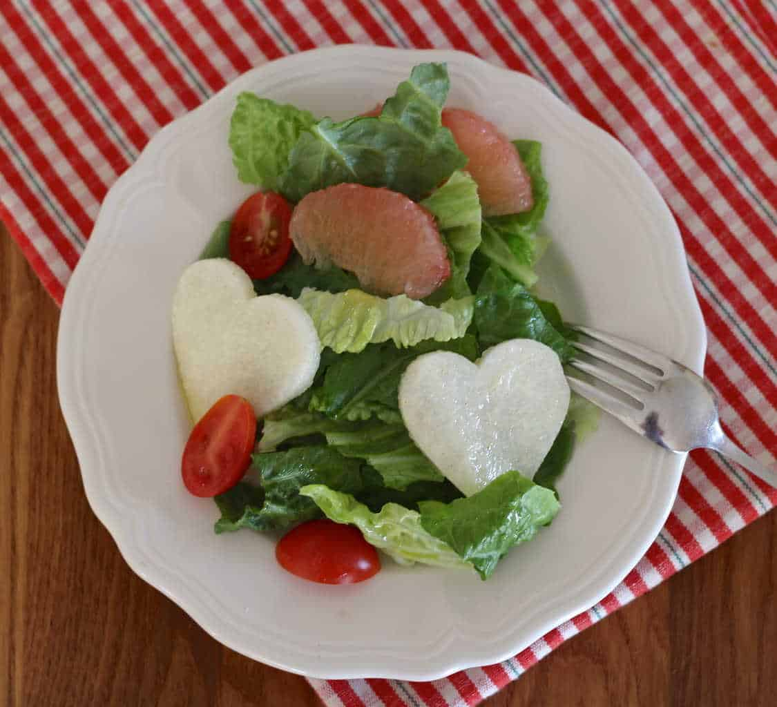 Romaine Lettuce Salad with Jicama and Cumin Lime Dressing - Letty's ...