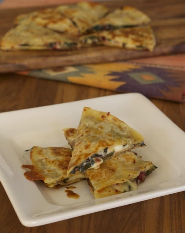 tortilla wedges tall