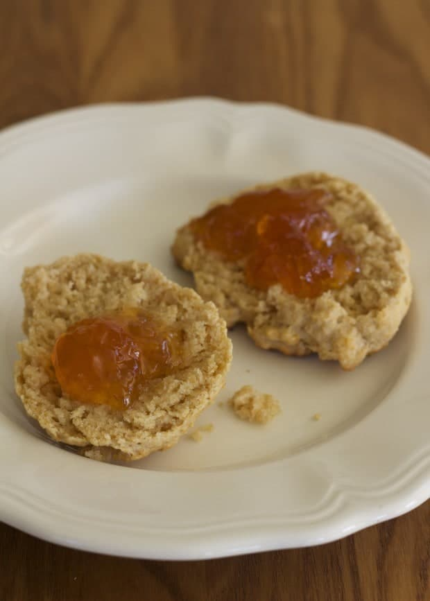 biscuits and marmalade