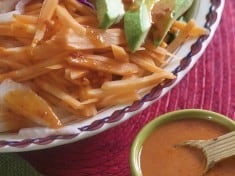 Brilliant Guajillo Chile Salad Dressing