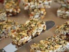Easy Honey Hemp Bars {gluten-free}