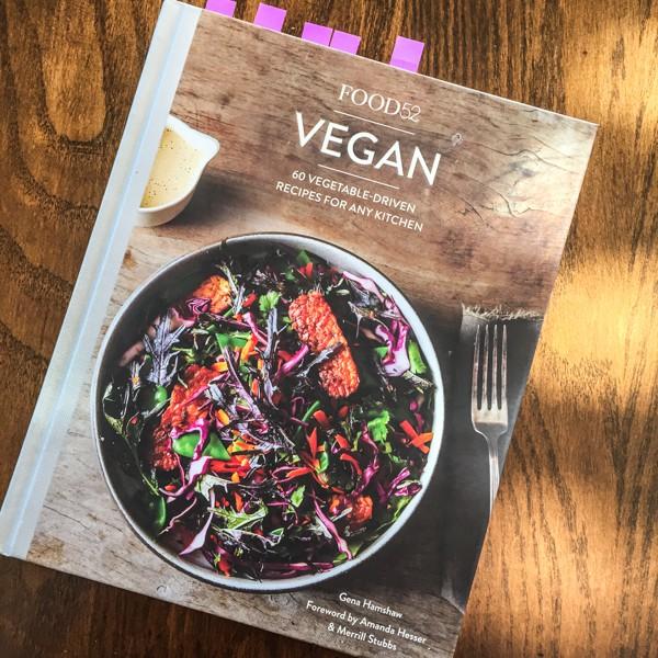 Food52 Vegan cookbook cover-- Chickpea Socca