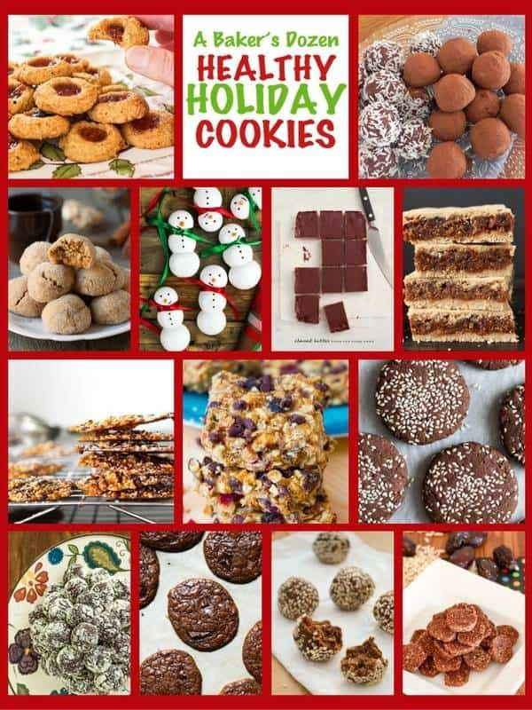 Healthy Holiday Cookies Roundup