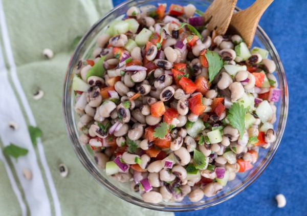 Mexican Black-eyed Pea Salad | Letty's Kitchen