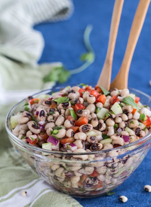 Mexican Black-eyed Pea Salad   Letty's Kitchen