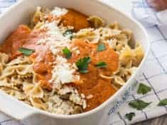 Quick and Easy Tomato Carrot Marinara Sauce