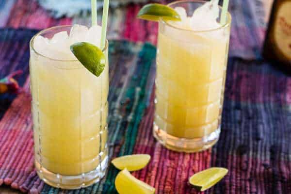 Mexican Mule Cocktail for 2