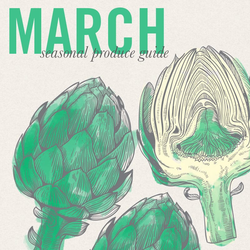 March seasonal Produce