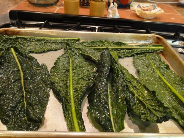 Crispy Oven-Roasted Kale