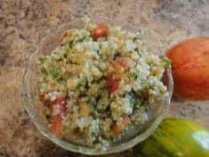 Quinoa and Parsley Tabbouleh