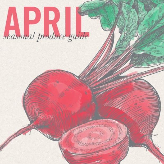 April Eat Seasonal print