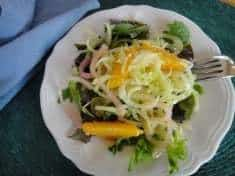 Fennel, Orange and Pickled Onion Salad