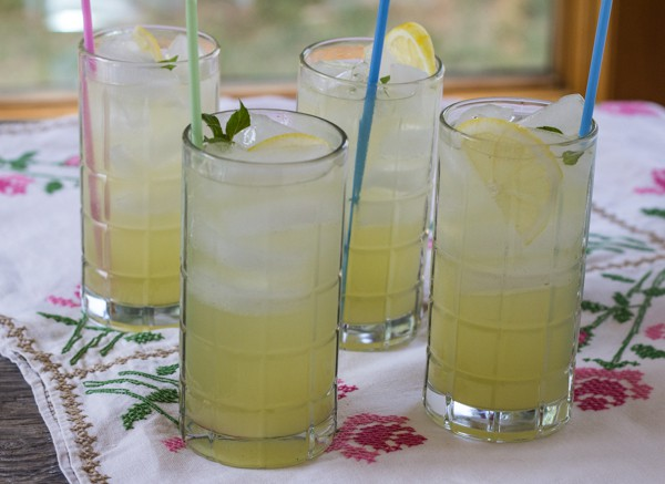Lemon Basil Lemonade | Letty's Kitchen