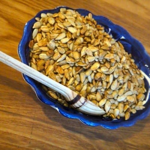 How to Make Tamari Roasted Sunflower Seeds