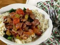 Christmas Lima Beans with Tomato and Celery