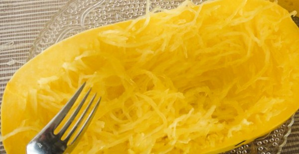 scraping spaghetti squash for spaghetti squash with pinto beans