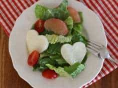 Jicama Heart Salad with Cumin Lime Dressing