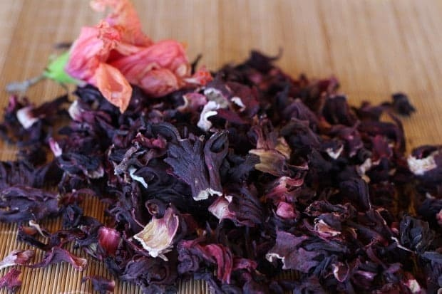 dried hibiscus flowers for Hibiscus Margaritas