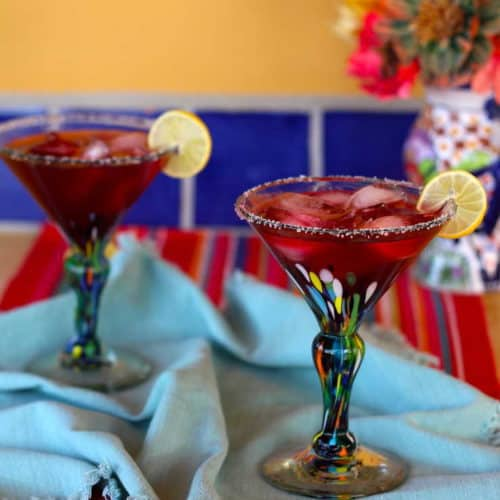 Perfect Hibiscus Margaritas