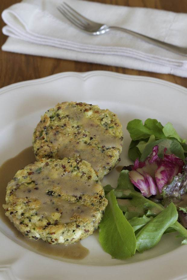 Quinoa and Tofu Patties—Meatless Burgers | Letty's Kitchen