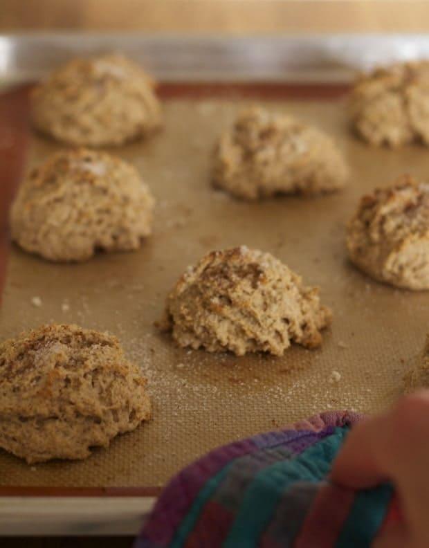 whole wheat cinnamon biscuits