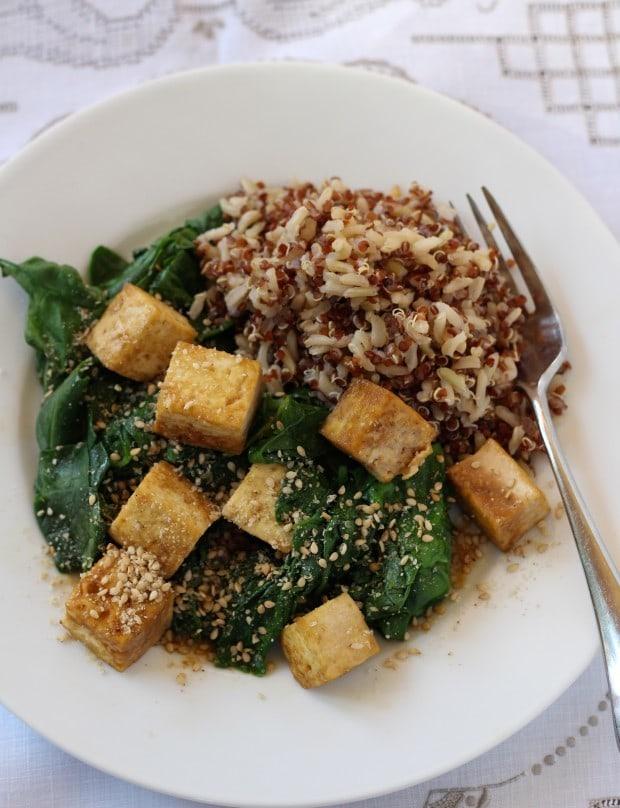 Leafy Chinese Tofu