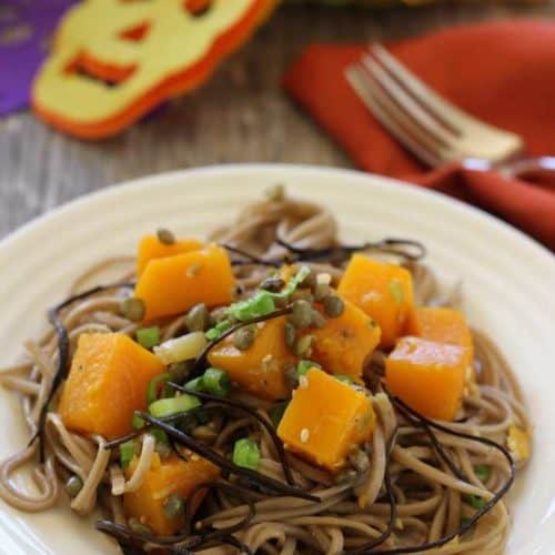 Butternut Squash and Soba Noodles