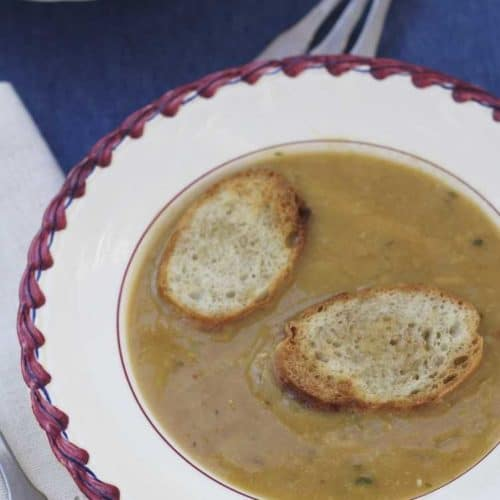 Garbanzo Bean Soup + Cooking School in Oaxaca Mexico