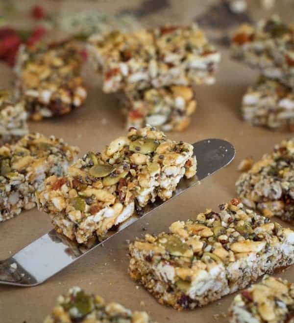 Easy Honey Hemp Bars
