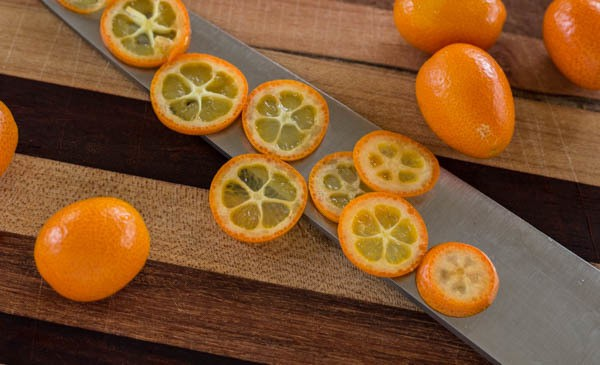kumquat slices