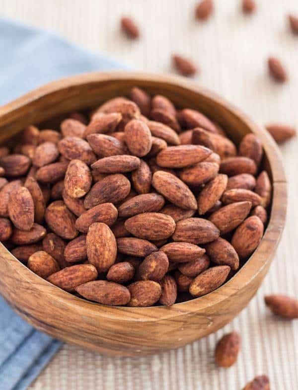 Easy Pan-Roasted Tamari Almonds