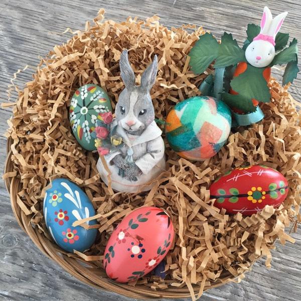 Easter basket for Vegetarian Spring Brunch Recipes