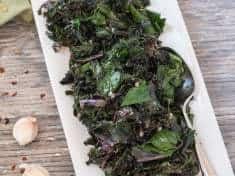 Garlicky Sautéed Greens