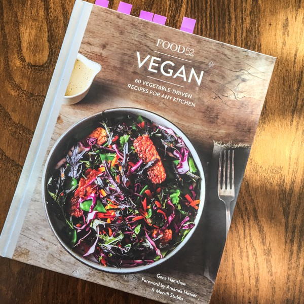 Food52 Vegan cookbook cover-- Chickpea Socca