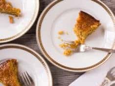Orange Almond Honey Cake