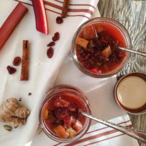 Spiced Honey Rhubarb Chutney | Letty's Kitchen