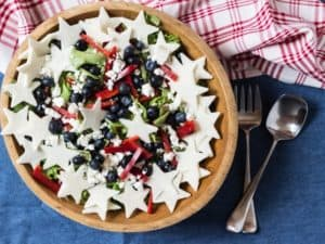 Red, White, and Blueberry Salad