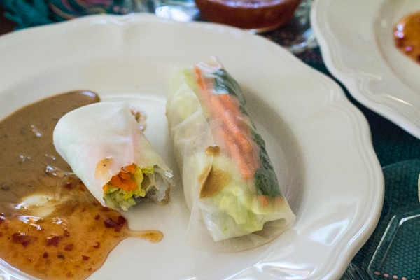 Vegetarian Rice Paper Spring Rolls |Letty's Kitchen