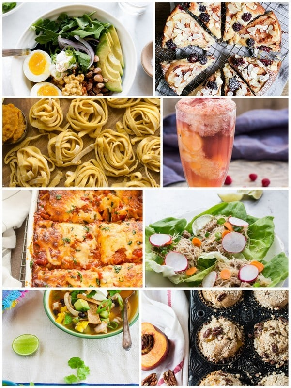 September collage for Melon Raspberry Soda Float | Letty's Kitchen