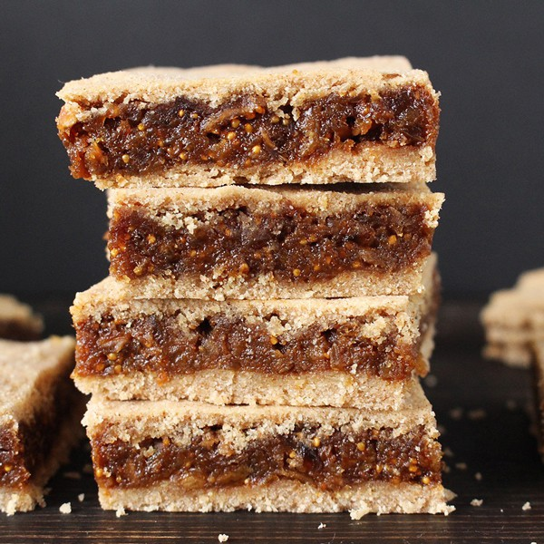 Paleo Fig Newtons for Healthy Holiday Cookies