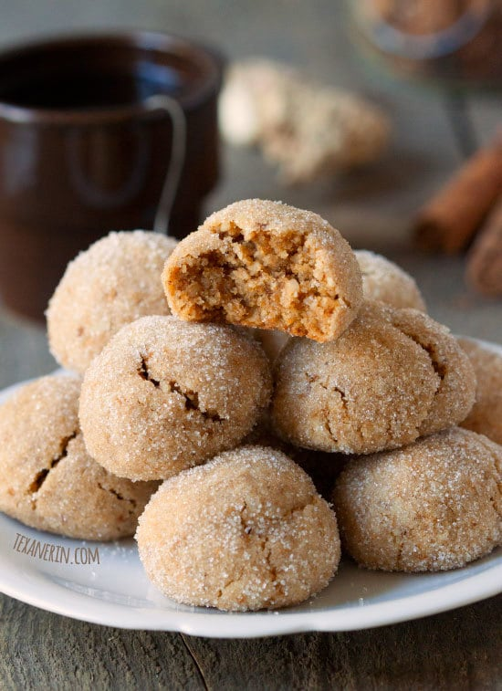 Paleo Chai Spiced Cookies for Healthy Holiday Cookies