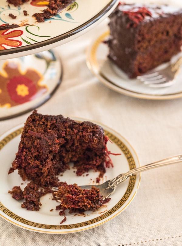 Red Velvet Chocolate Beet Cake | Letty's Kitchen