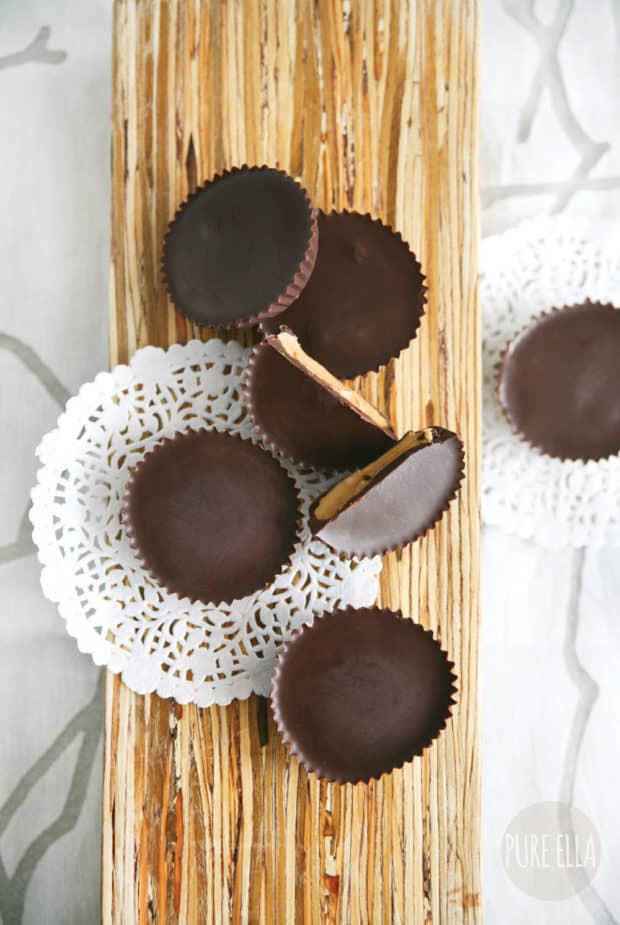 Vegan Peanut Butter Cups for 16 Healthy Vegetarian Halloween Picks