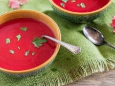 Instant Pot Red Velvet Beet Soup