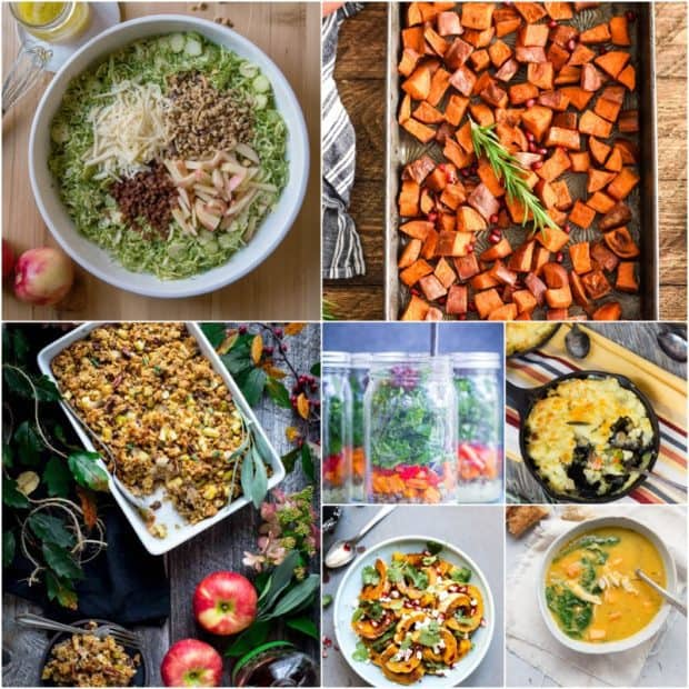 Eat Seaonal collage for Vegan Shepherd's Pie with Savory Mushroom Gravy